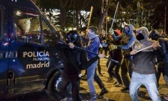Κόλαση η Μαδρίτη: 89 τραυματίες σε διαδηλώσεις κατά της λιτότητας