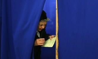 Φωτορεπορτάζ από το δημοψήφισμα στην Κριμαία