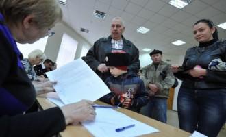 Έκτακτη είδηση: Τα exit poll στην Κριμαία δίνουν 93% υπέρ της ένωσης με την Ρωσία