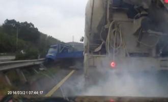 Η βιασύνη είναι… κακός οδηγός (βίντεο)