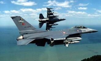 Νέα παραβίαση από τουρκικά F16 μεταξύ Σάμου και Χίου