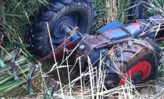 Τραγικός θάνατος αγρότη που τον πλάκωσε το τρακτέρ του