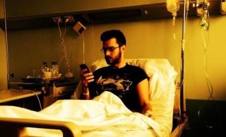 Στο νοσοκομείο ο Γ. Τσιμιτσέλης, ανεβάζει φωτογραφίες στο facebook