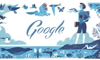 Στη Ρέιτσελ Λουίζ Κάρσον αφιερωμένο το doodle της Google