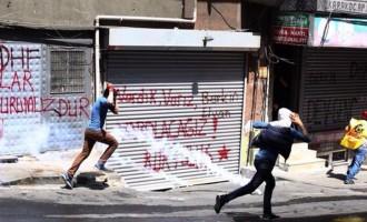 Νέες συγκρούσεις στην Κωνσταντινούπολη