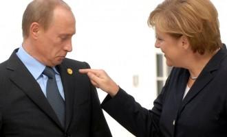 Εδώ άνθρωποι σκοτώνονται και η Μέρκελ τηλεφώνησε στον Πούτιν για το φυσικό αέριο!