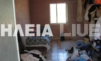Νεκρός 45χρονος που έτρωγε από τα σκουπίδια στην Ανδραβίδα, εικόνες και βίντεο από την τραγωδία