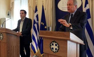 Αβραμόπουλος: Δεν αποκλείω μεγάλο συνασπισμό με τον ΣΥΡΙΖΑ