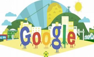 Το doodle της Google αφιερωμένο στην έναρξη του Μουντιάλ