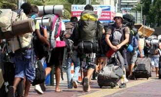 Αύξηση τουριστικών αφίξεων και εισπράξεων το 2019 έναντι του 2018