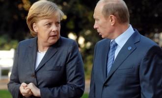 Πούτιν και Μέρκελ συμφώνησαν εκεχειρία στην Ουκρανία
