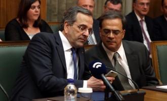 Έξι βουλευτές της ΝΔ ρωτούν τον Χαρδούβελη για να ακούσει ο… Σαμαράς
