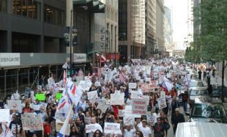 Χιλιάδες Ασσύριοι διαδήλωσαν στις ΗΠΑ ενάντια στο Ισλαμικό Κράτος