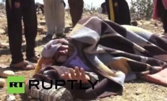 Βίντεο σοκ: Οι Γιαζίντι πεθαίνουν από αφυδάτωση στα βουνά του Ιράκ