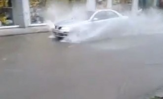 Βούλιαξε η Κοζάνη από τους… μουσώνες (βίντεο)