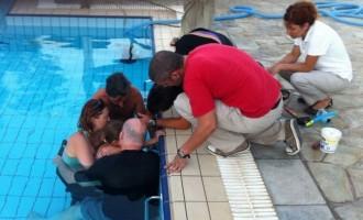 """Δραματικές ώρες στην Σαντορίνη: 4χρονο κορίτσι είχε """"σφηνώσει"""" σε πισίνα"""