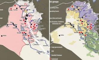 Δύο χάρτες για να καταλάβουμε τι συμβαίνει στο Ιράκ!