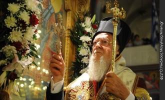 Μήνυμα Οικ. Πατριάρχη στη Μόσχα: Εσείς μιλάτε για σχίσμα, εμείς μιλάμε για αγάπη