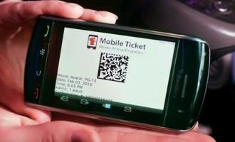 Αγορά εισιτηρίων μέσω κινητού