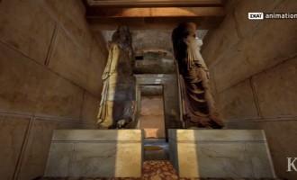 Αμφίπολη: Η ανασκαφή συνεχίζεται – Αναζητούν κι άλλες άγνωστες αίθουσες