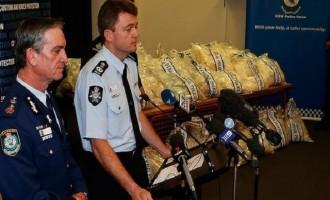 Ναρκωτικά αξίας 1,5 δισ. κατασχέθηκαν στην Αυστραλία