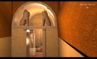 Αμφίπολη: Νέα τρισδιάστατη απεικόνιση του τάφου (βίντεο)