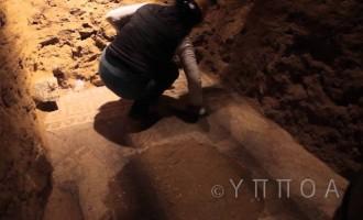 Γεμάτος χρυσάφι ήταν ο τάφος στην Αμφίπολη