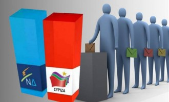 GPO: Προβάδισμα ΣΥΡΙΖΑ με 3,2% έναντι της ΝΔ