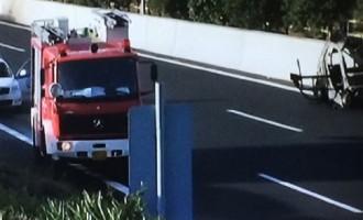 Εξερράγη τελικά το αυτοκίνητο smart κοντά στο αεροδρόμιο Ελ. Βενιζέλος