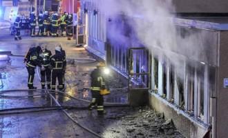 Σουηδία: Εμπρηστική επίθεση σε τέμενος – 5 τραυματίες