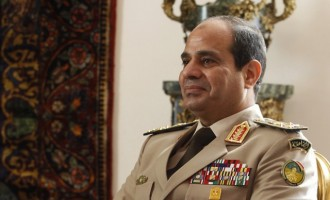 Ο Πρόεδρος της Αιγύπτου Σίσι εκλέγεται με ποσοστό μεγαλύτερο του 90%