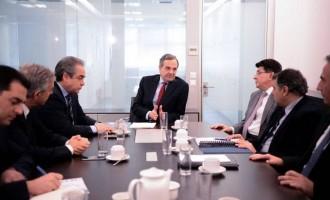 Γιατί απογοητεύθηκε από τη συνάντηση με τους εκπροσώπους των επιχειρηματιών ο Σαμαράς