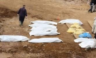Φρίκη! Οι Κούρδοι βρήκαν ομαδικό τάφο με αποκεφαλισμένες γυναίκες – Ίσως να είναι ερωτικές σκλάβες