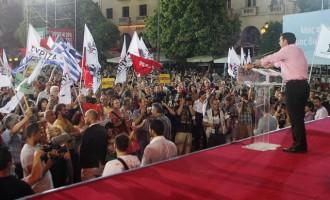 Σαρώνει ο Τσίπρας – 14,5 μονάδες μπροστά ο ΣΥΡΙΖΑ σε νέα δημοσκόπηση