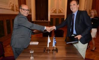 Συνεργασία Ελλάδας με τη Διεθνή Αναπτυξιακή τράπεζα EBRD