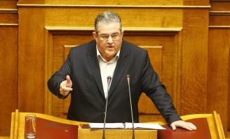 Το ΚΚΕ αποχώρησε από την συζήτηση της πρότασης δυσπιστίας