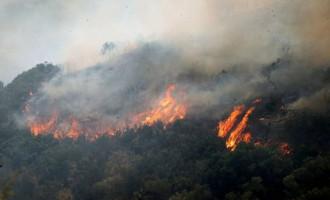 Πυρκαγιά στο Γιαννισκάρι Αχαΐας