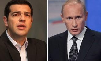 Πούτιν: Ο Τσίπρας δεν έχει ζητήσει οικονομική βοήθεια από τη Μόσχα