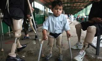 Προσοχή! Σκληρές εικόνες από τα θύματα πολέμου στο Αφγανιστάν (φωτο)