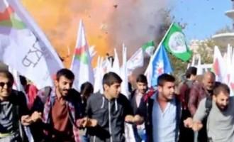 Ακόμα προσπαθούν να χρεώσουν το μακελειό στην Άγκυρα στο Ισλαμικό Κράτος ενώ ήταν ο Ερντογάν