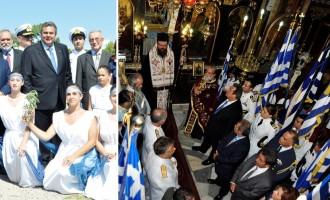 Έλληνες Εθνικοί: Τα χριστιανικά τρισάγια προσβάλουν τη μνήμη των Σαλαμινομάχων