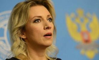 Zαχάροβα: H Βρετανία επιβάλει στην Ευρώπη την επιδείνωση των σχέσεων με Ρωσία