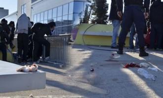 Στον εισαγγελέα οι πέντε συλληφθέντες για τον άγριο ξύλο μεταξύ Σέρβων και Κροατών