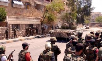 Ο στρατός της Συρίας σκότωσε 40 τζιχαντιστές του FSA στη Νταράα