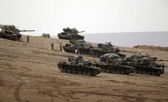 """Η Συρία λέει ότι η επικείμενη τουρκική εισβολή στην Ιντλίμπ είναι """"παράνομη"""" αλλά """"προσωρινή"""""""