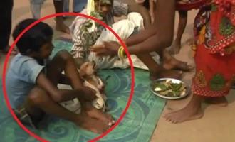 7χρονος παντρεύτηκε σκύλα στην Ινδία – Η τετράποδη νύφη φορούσε και νυφικό!