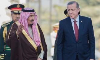 Ο Ερντογάν τηλεφώνησε στον βασιλιά Σαλμάν για τη μουσουλμανική εορτή Αΐντ Αλ Άντχα