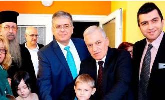Με χορηγία των ΕΛΠΕ η ανακατασκευή παιδικής χαράς σε νηπιαγωγεία Θεσσαλονίκης