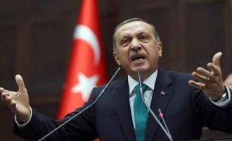 """Ο Ερντογάν απειλεί Ευρωπαίους διπλωμάτες: """"Εδώ είναι Τουρκία""""!"""