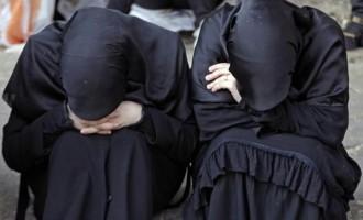 Στα χέρια των Κούρδων Πεσμεργκά δεκάδες σύζυγοι τζιχαντιστών του ISIS